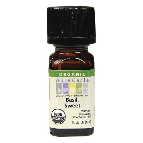 Sweet Basil Organic Essential Oil