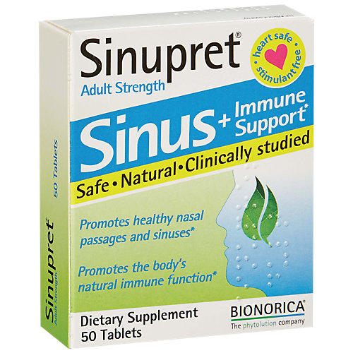 Sinupret Sinus and Immune Support