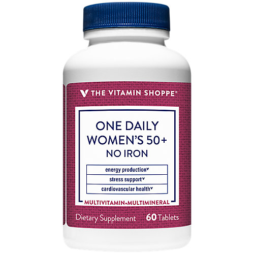 One Daily Womens 50+ No Iron