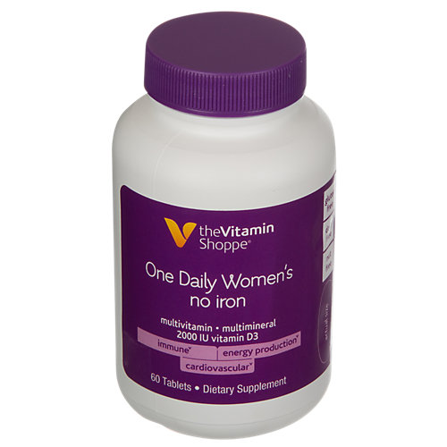 One Daily Womens No Iron Multi