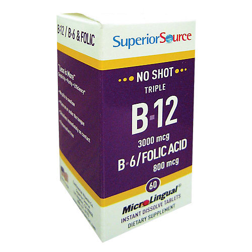 B12 Methylcobalamin B6/Folic Acid
