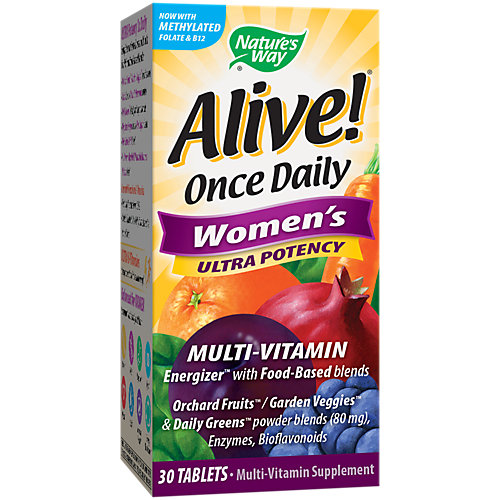 Alive Womens Once Daily Ultra Potency