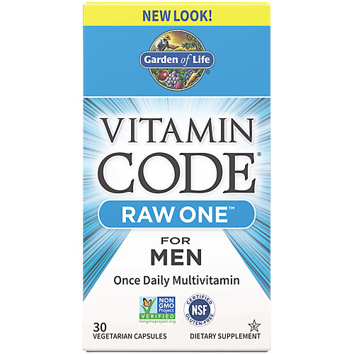 18% Vitamin Code Raw One Men