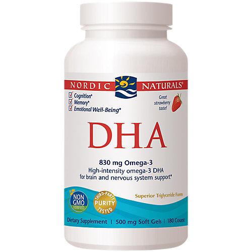 Nordic Naturals Dha From Purified Fish Oil Strawberry Amazon