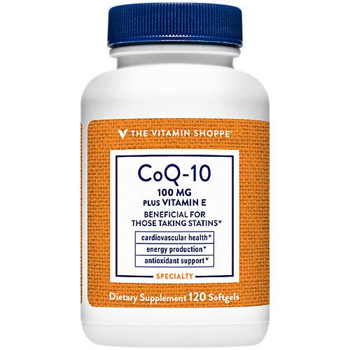 CoQ10 Plus Vitamin E