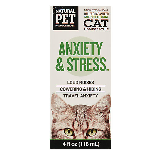 Anxiety And Stress Homeopathy (cat)