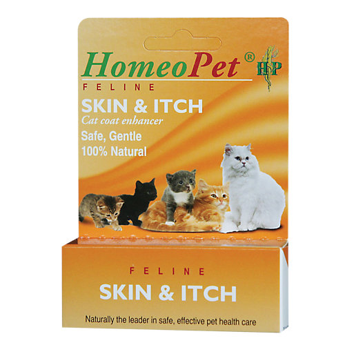 Skin Itch Relief Feline Homeopathic