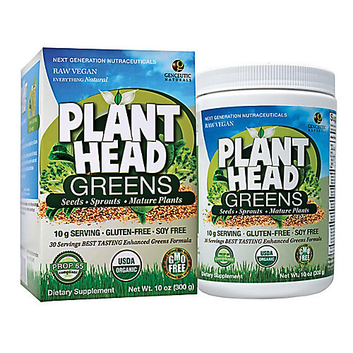 Plant Head Greens