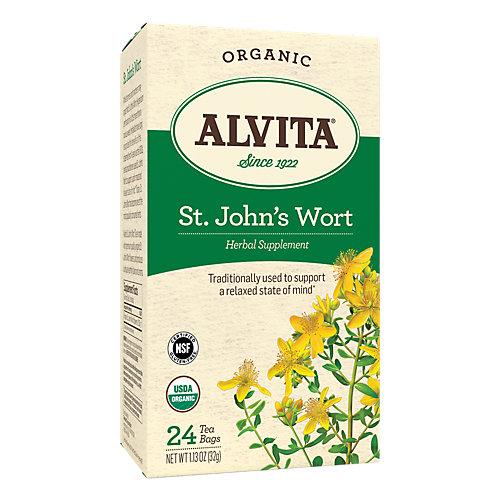 Organic St. Johns Wort Tea