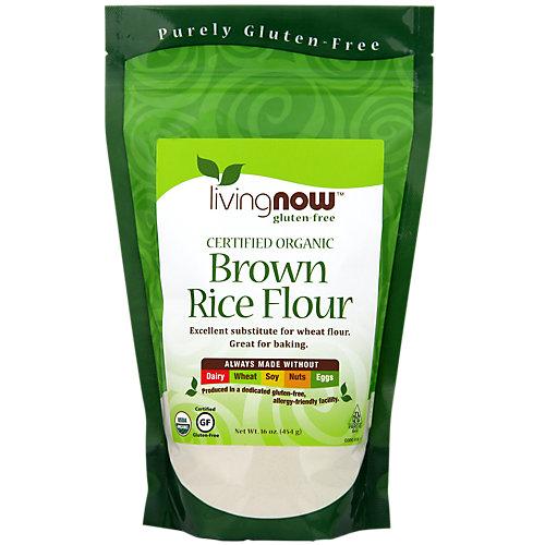 Living Now Organic Brown Rice Flour