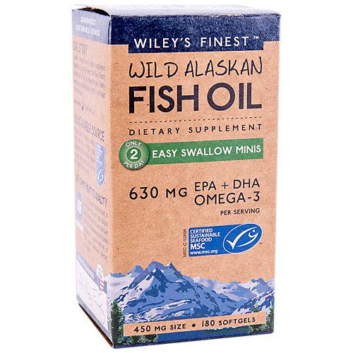 Wild Alaskan Fish Oil Easy Swallow Minis