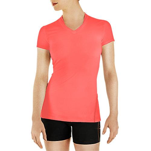 Xxl Coral Womens Short Sleeve Performance Shirt