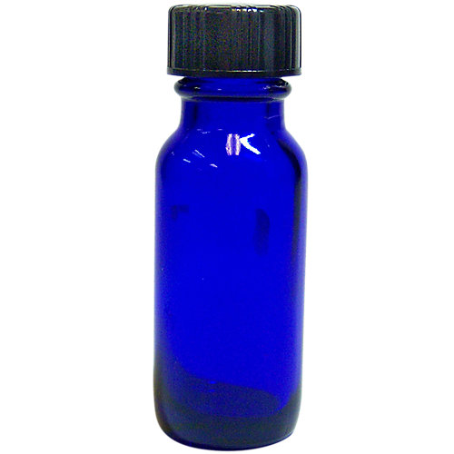 .5 oz. Glass Bottle with Cap