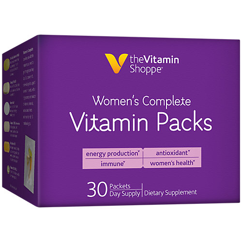 Womens Complete Vitamin Packs