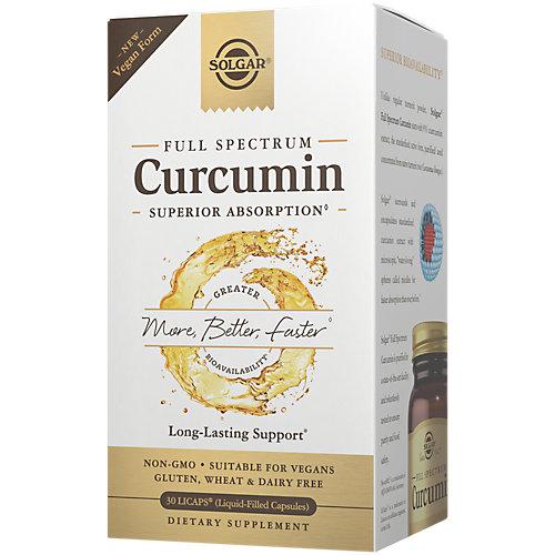 Full Spectrum Curcumin 30 Liquid SoftGels