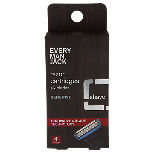 Razor Cartridges Six Blades