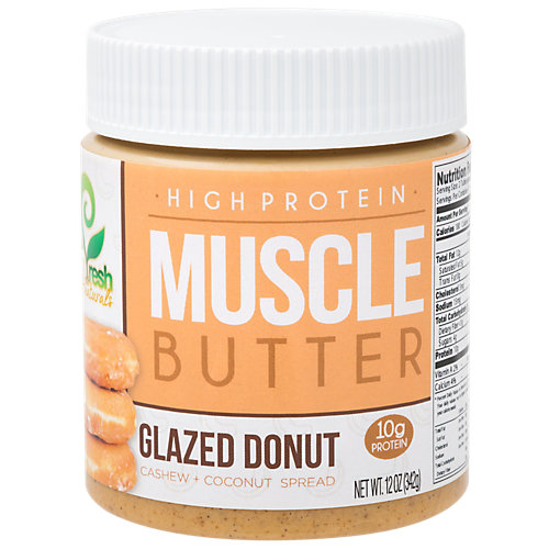 Glazed Donut Cashew Coconut Muscle Butter