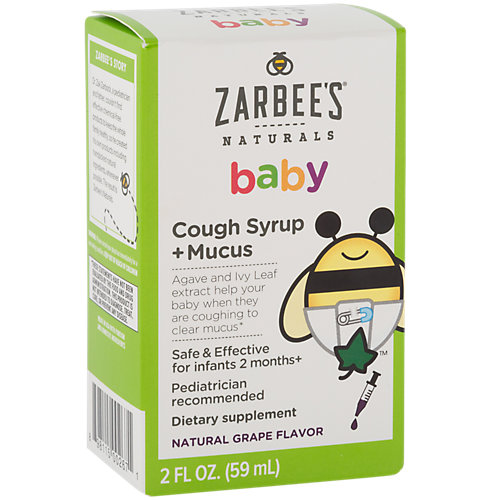 Baby Cough Syrup + Mucus
