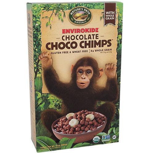Organic Choco Chimps Cereal Gluten Free Chocolate