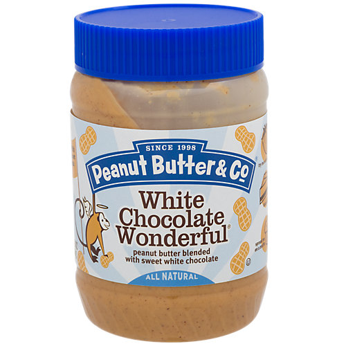 White Chocolate Wonderful Blended Peanut Butter