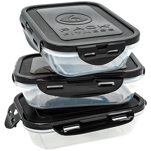 Sure Seal Containers 3 Meal Containers