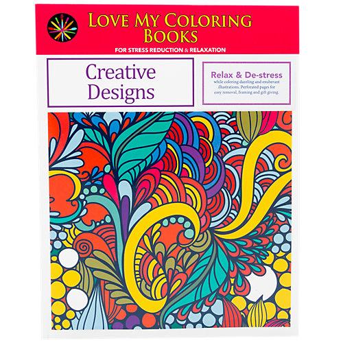 Love My Coloring Books Creative Designs 1 Book