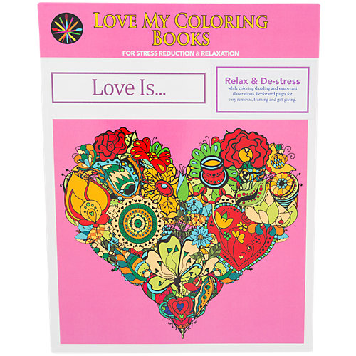 Love My Coloring Books Love Is... 1 Book