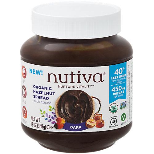 Organic Hazelnut Spread Dark