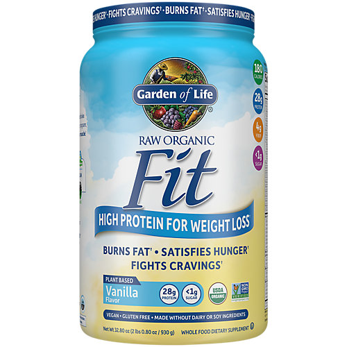 Raw Organic Fit Double Size Vanilla Powder, 32.2 Oz
