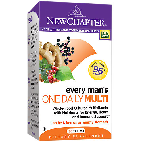 727783003331 UPC - New Chapter Every Man's One Daily, 96