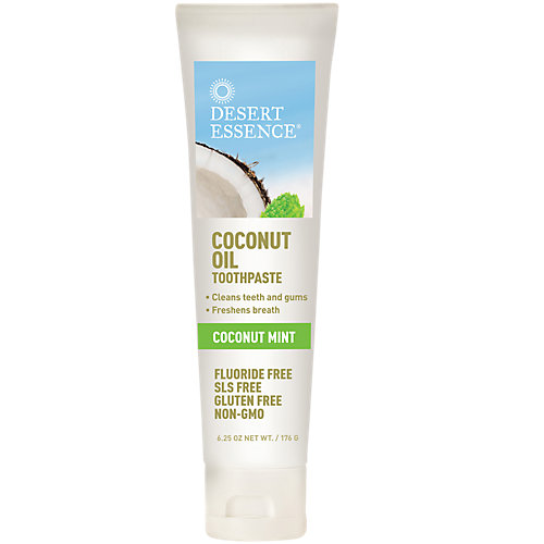 Coconut Oil Toothpaste