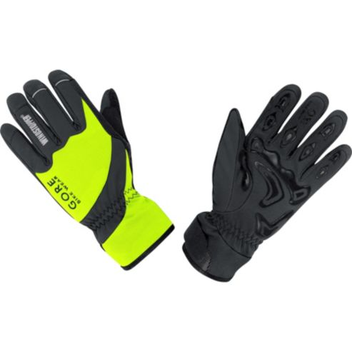 TOOL WINDSTOPPER® Soft Shell NEON Gloves
