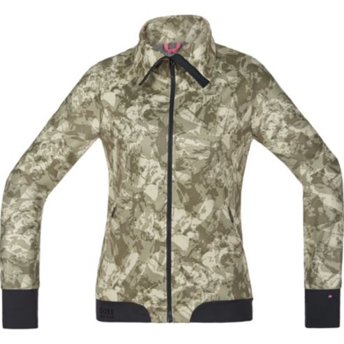 POWER TRAIL LADY PRINT WINDSTOPPER® Soft Shell Jacket