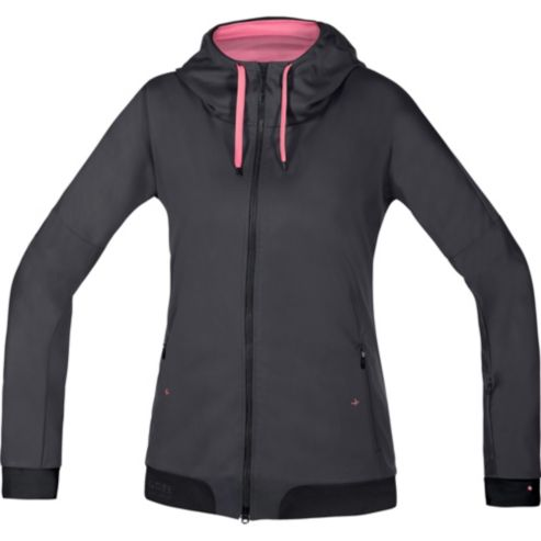 Maillot à capuche POWER TRAIL LADY WINDSTOPPER® Soft Shell