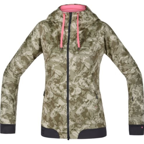 Maillot à capuche POWER TRAIL LADY PRINT WINDSTOPPER® Soft Shell