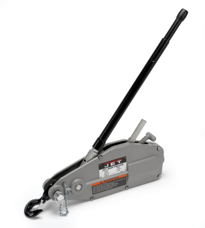 wire rope cable and grip hoist pullers