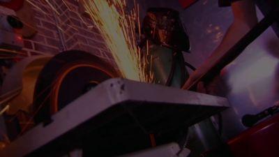 JET Metalforming Belt Sander