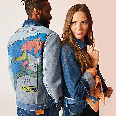 Peter Max Men and Womens Denim Jackets