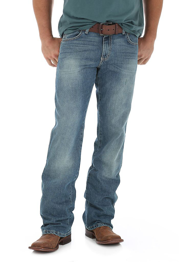 Mens Jeans Fit Guide Relaxed Fit Wrangler