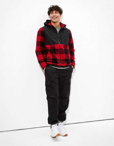 AE Hooded Sherpa Jacket