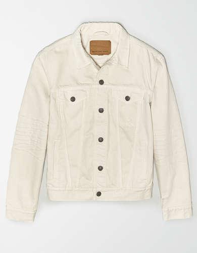 AE Cream Denim Jacket