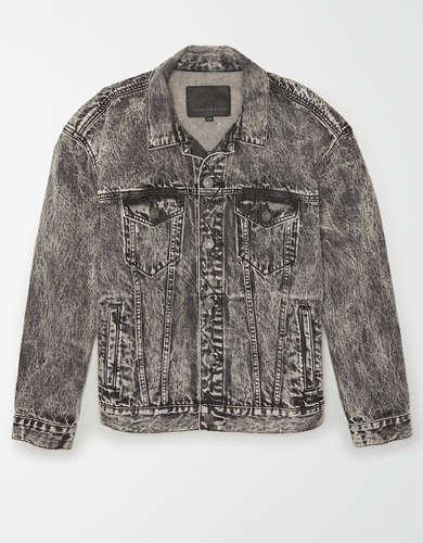 AE Acid Wash Denim Jacket