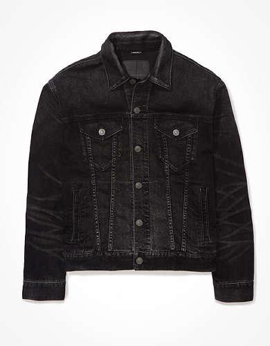 AE Black Denim Jacket