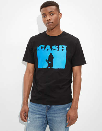 Tailgate Men's Johnny Cash Graphic T-Shirt
