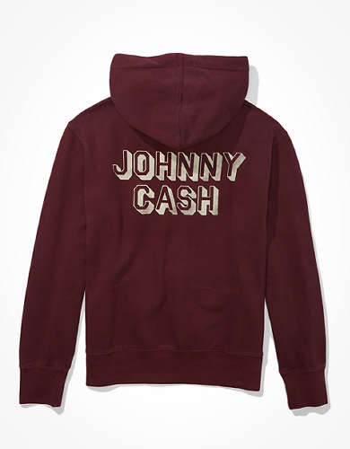 Tailgate Men's Johnny Cash Graphic Hoodie