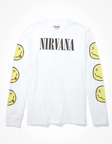 Tailgate Men's Nirvana Long Sleeve Graphic T-Shirt