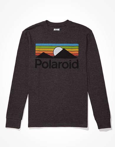 Tailgate Men's Polaroid Long Sleeve Graphic T-Shirt