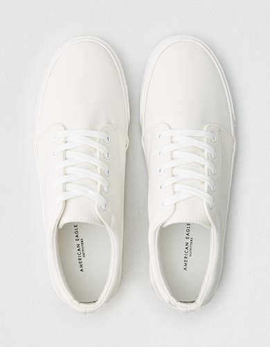 AE Men's Canvas Low Top Sneaker