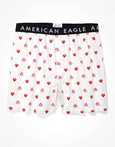 AEO Digital Hearts Stretch Boxer Short