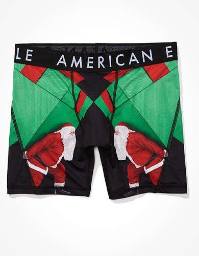 "AEO Santa Gift 6"" Flex Boxer Brief"